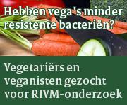 Onderzoek RIVM: Hebben vegetariërs minder resistente bacteriën?