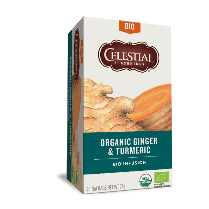 Celestial Seasonings gember kurkuma